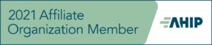 AHIP 2021 Affiliate Organization Member badge